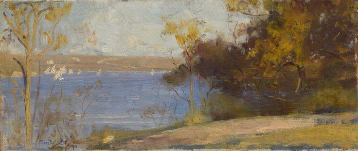 Landscape, Cremorne, - Tom Roberts