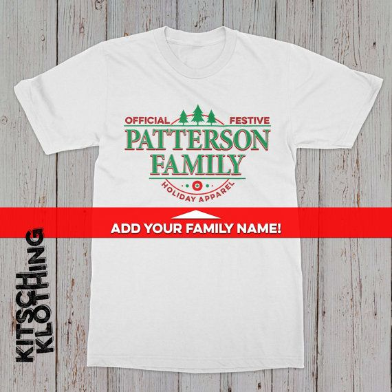 Matching Family pyjamas Matching Family Shirts by kitschklothing