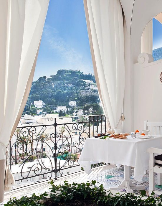 Capri Palace Hotel & Spa.  Share with someone special www.travellerchic.com