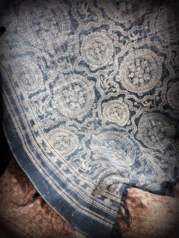 blå matta från Frejas Boning