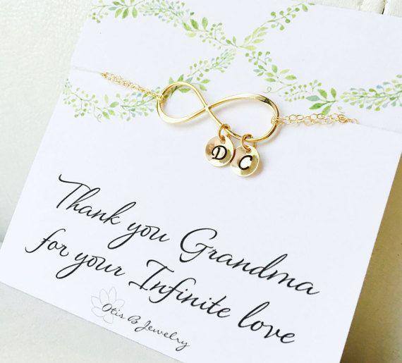 Personalized Grandmothers bracelet with by OtisBJewelryGifts