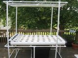 assembling a large homemade hydroponic system