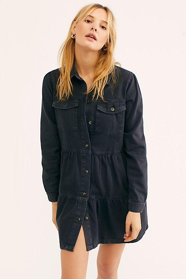290465e2c Nicole Denim Shirt Dress in 2019 | Clothing | Denim shirt dress ...