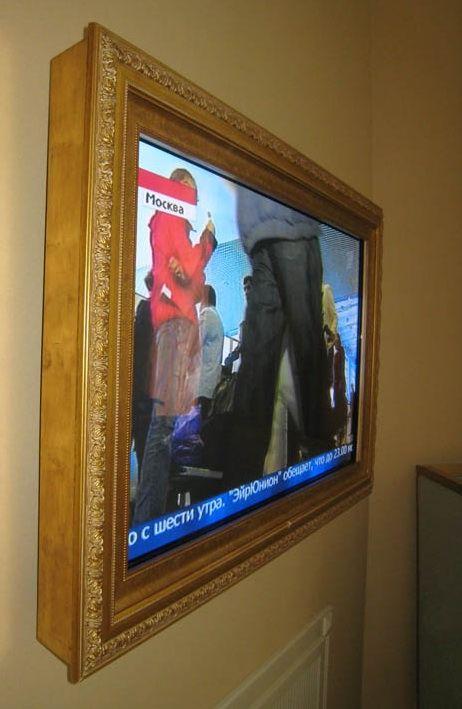 Изделия на заказ Багет: рамы для телевизоров . RAMA GOLD. TUMBA.TV: тумбы под телевизоры, стойки и кронштейны под телевизор | тв тумба, подс...