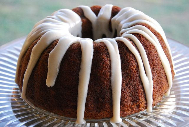 Paleo Glazed Almond Bundt Cake