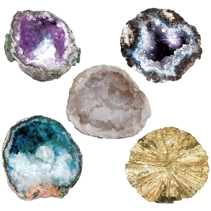 how to break a geode
