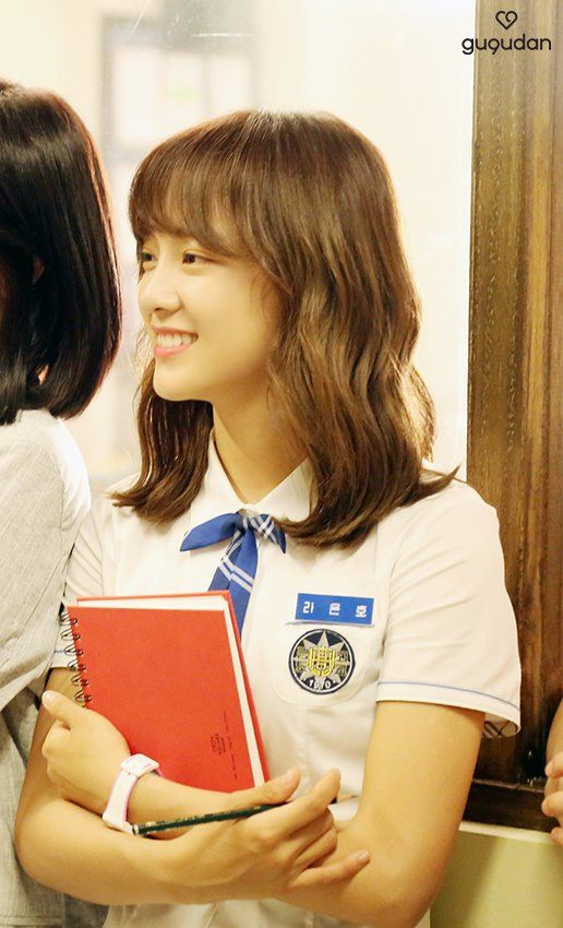 [PICS] 170714 Sejeong in 'School 2017' behind the scenes - Naver. (5)  #아이오아이 #IOI #김세정 #Sejeong