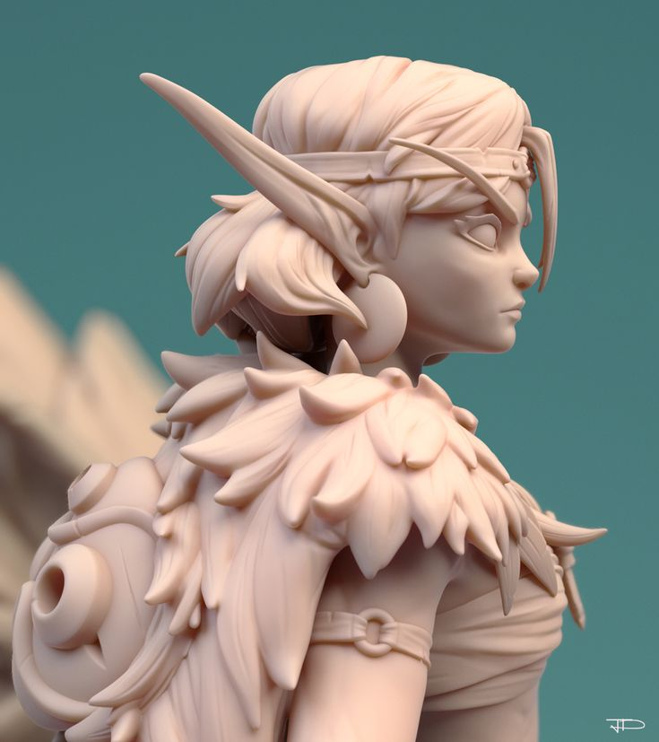 San by Julien Desroy | Fan Art | 3D | CGSociety