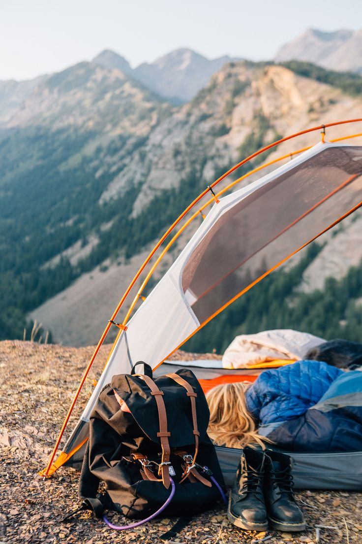 tent + gear, big cottonwood canyon, utah | camping + outdoors #adventure