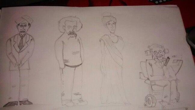Zen pencil characters