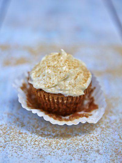Vegan ginger cupcakes