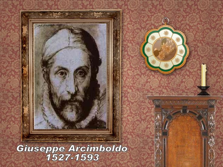 Giuseppe Arcimboldo by BeatrixP via slideshare