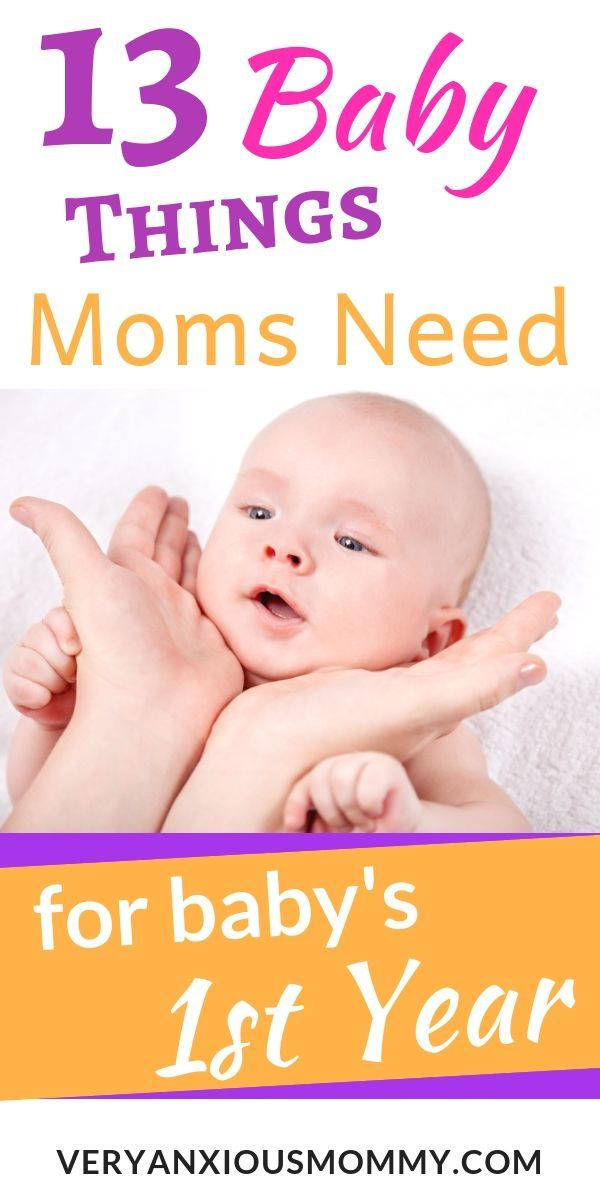 13 Essential Baby Items For Surviving The First Year Very Anxious Mommy Baby Item Checklist Newborn Newborn Essentials