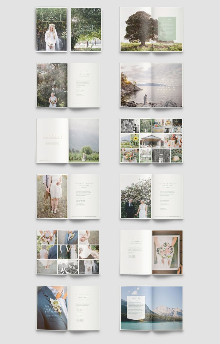 WANDERERS Photography Brochure by 46&2 Collective on @creativemarket