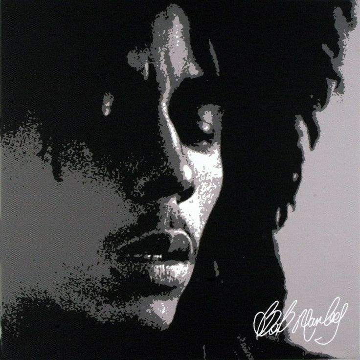 Bob Marley - Dreads Small Canvas Print