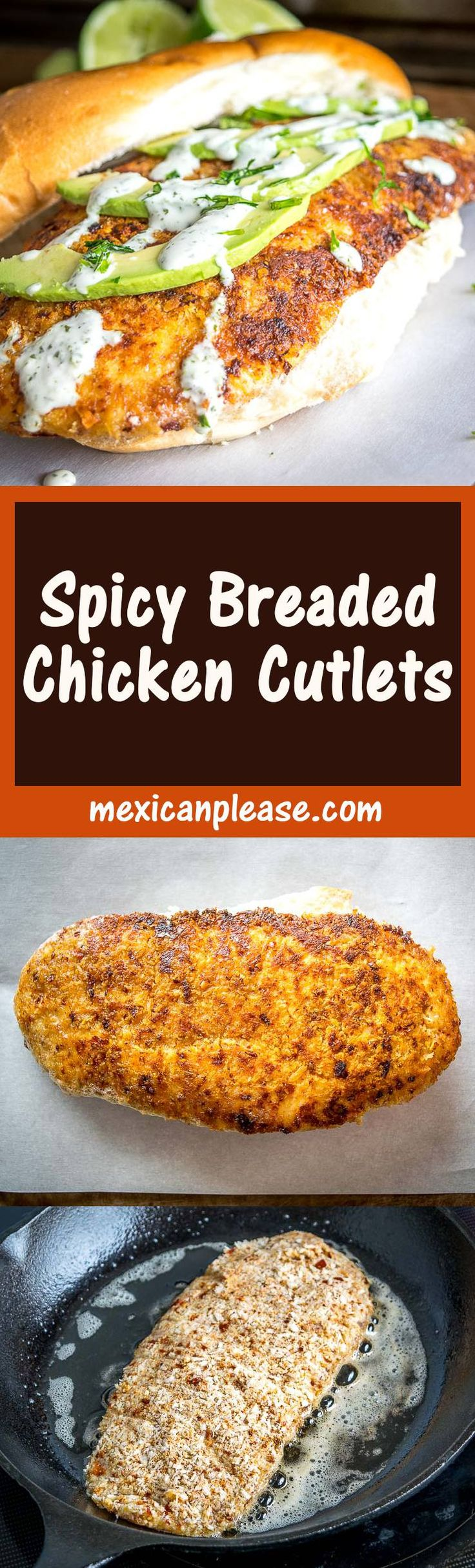 Here's a great recipe to keep in mind for a spicy batch of Breaded Chicken Cutlets.  Feel free to substitute Parmesan for the Cotija cheese!  mexicanplease.com