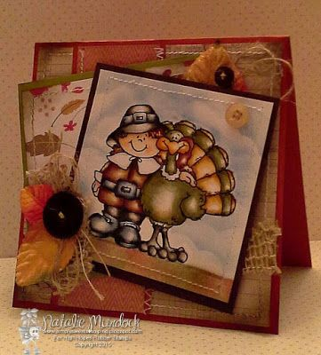 High Hopes Stamps: Thankful Friends by Natalie using Thankful Friends S210