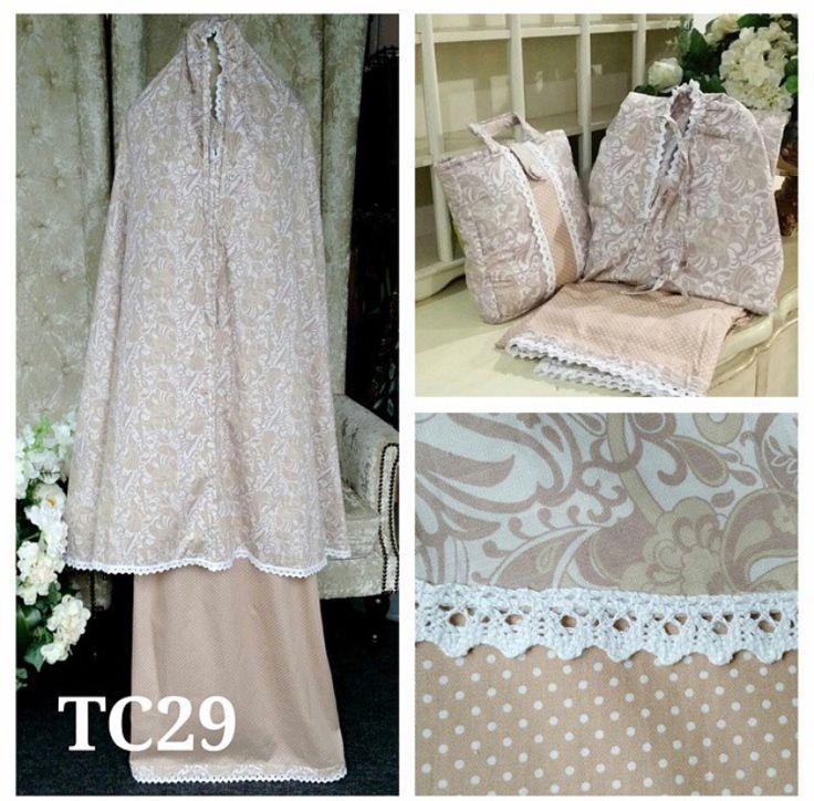 telekung cotton tc29