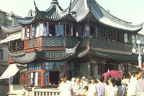 Chinese tea house - Shanghai