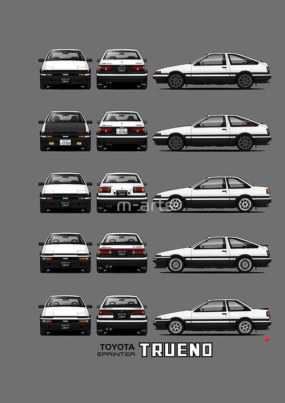 AE86 - Toyota Sprinter Trueno