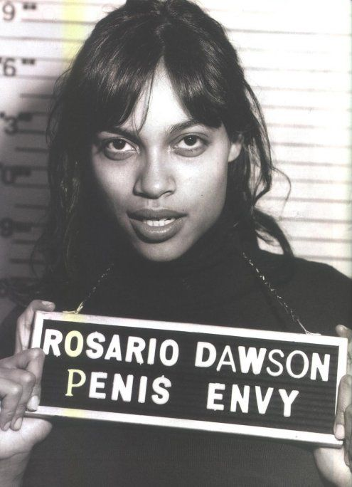 Rosario Dawson.  Penis Envy.
