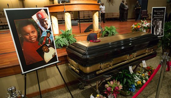 Warner Brothers win in a large bid to turn Michael Brown's tragic story into the next big Academy Award winning film.