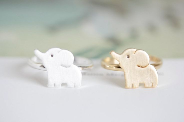 baby cute elephant Ring  Whatever your favorite animal is, it's probably represented in this list. Be sure to check out our collection of animal jewelry.