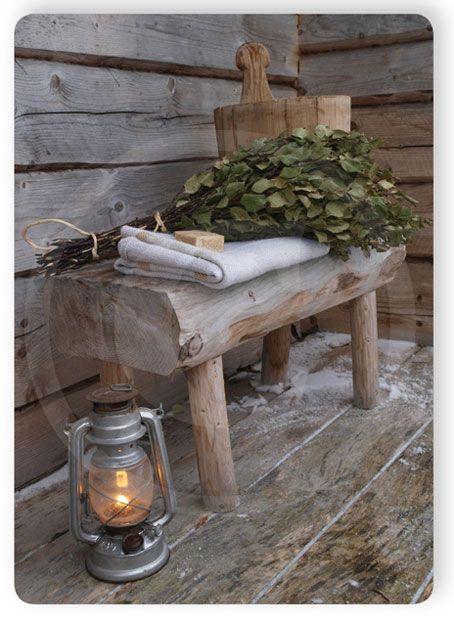 Joulusaunan penkki
