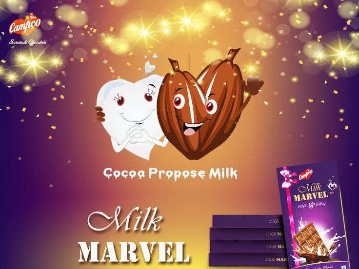Campco Chocolates wishes everyone a happy and lucky Propose day with our soft and silky Milk Marvel.  #love #chocolate #campco #dhilwala #valentine #propose #proposeDay #milkChocolate #silk #marvel #proposeDay #MilkMarvel #heart #gift #chocoLover  Marketed & Distributed by SRKGC | info@srkgc.com | +91 888 4477 609 Visit our website to know more - http://campcochocolates.com/