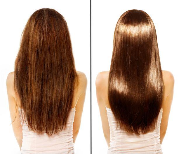 ひまし油効果で、男女問わず、こんなにツヤツヤな髪質を手に入れることができます!