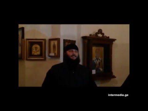 Монах грузин поет трисвятое на арамейском (язык Христа)! - YouTube