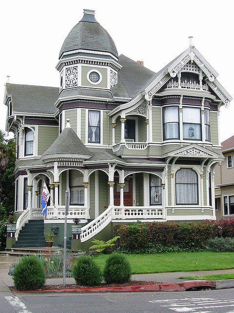 162 best Gothic/Victorian Gingerbread Style House images on Pinterest