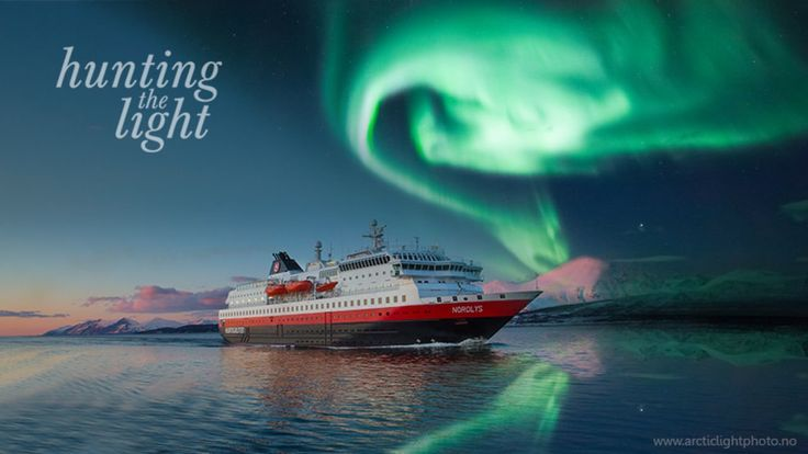 HURTIGRUTEN WINTER - hunting the light. Classic Norway & Northern Lights cruise with HUSKY SLEDDING!