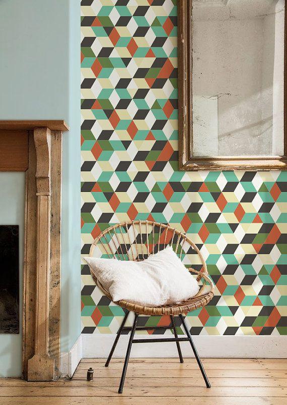 1000 ideas about vinyl wallpaper on pinterest plain for Modern vinyl wallpaper