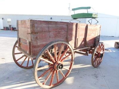 3 Horse Drawn Wagons Wood Wheel Wagons Farm Wagon Ranch