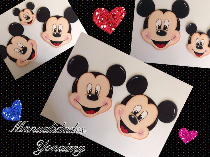 Mickey Mouse De Goma Eva Paso A Paso Manualidades Yonaimy