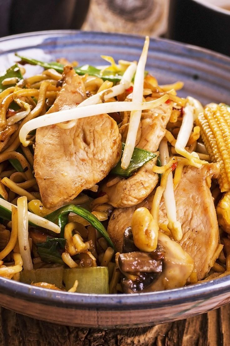 Quick Everything Lo Mein