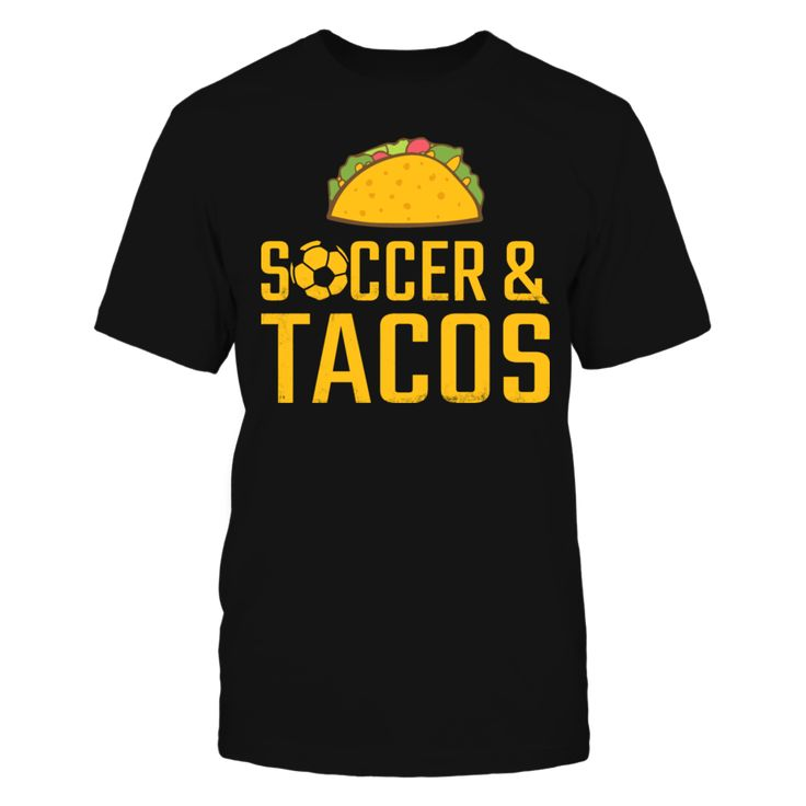 Soccer & Tacos T-Shirt T-Shirt, Soccer & Tacos T-Shirt  AVAILABLE PRODUCTS Gildan Unisex T-Shirt - $24.95   Gildan Unisex T-Shirt Gildan Women District Men District Women Gildan Unisex Pullover Hoodie Next Level Women Gildan Long-Sleeve T-Shirt Gildan Fleece Crew Gildan Youth T-Shirt View sizing / material info.