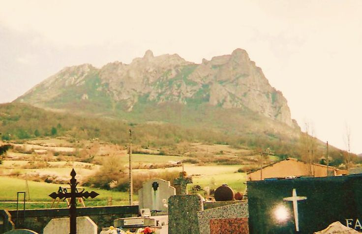 Mount Bugarach. Taken from the graveyard. © Scarlett Amaris