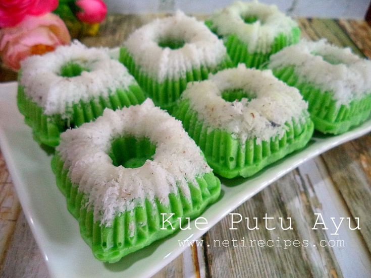 Video recipe : Kue Putu Ayu  Please click likes, share and subscribe if you think this cooking video is useful for you and your friends. Have a nice day ^^