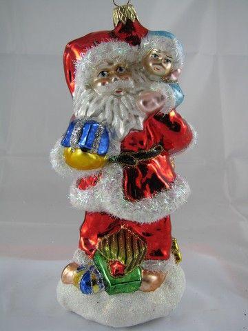 Santa Claus with boy