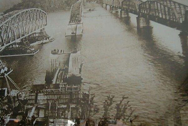 Brooklyn Bridge at the Hawkesbury River of yesteryears.A♥W