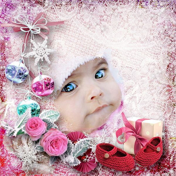 New Kit *Roses in December * by Graphic Creations http://digital-crea.fr/shop/index.php… Photo: Violet