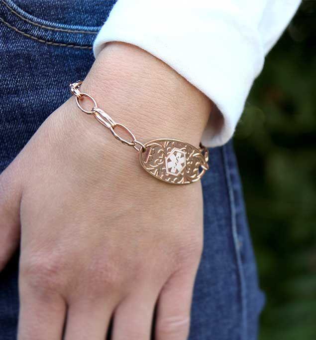 Naomi Medical Alert Bracelet Jewelry Pinterest