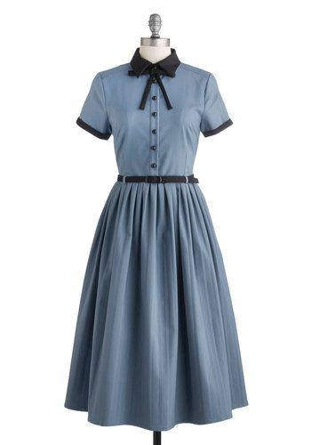 1930s - 1950s vintage style dress - Muse Your Instincts Dress- http://www.vintagedancer.com/1930s/1930s-fashion/