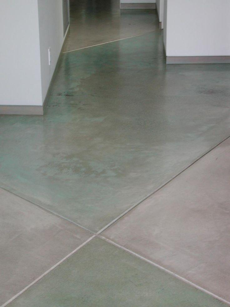 Image On Concrete Floors