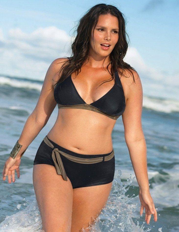 Plus size swim wear