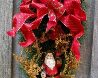 Christmas Wreath Gingerbread Men Holiday by NewEnglandWreath
