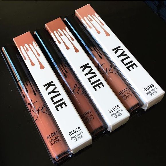 Kylie Gloss- LIKE LITERALLY SO CUTE Kylie Gloss- LIKE LITERALLY SO CUTE. Brand new and sold out! All 3 colors will be ready to ship out as soon as I get them. Kylie Cosmetics Makeup Lip Balm & Gloss