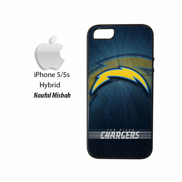 San Diego Chargers #3 iPhone 5/5s HYBRID Case Cover